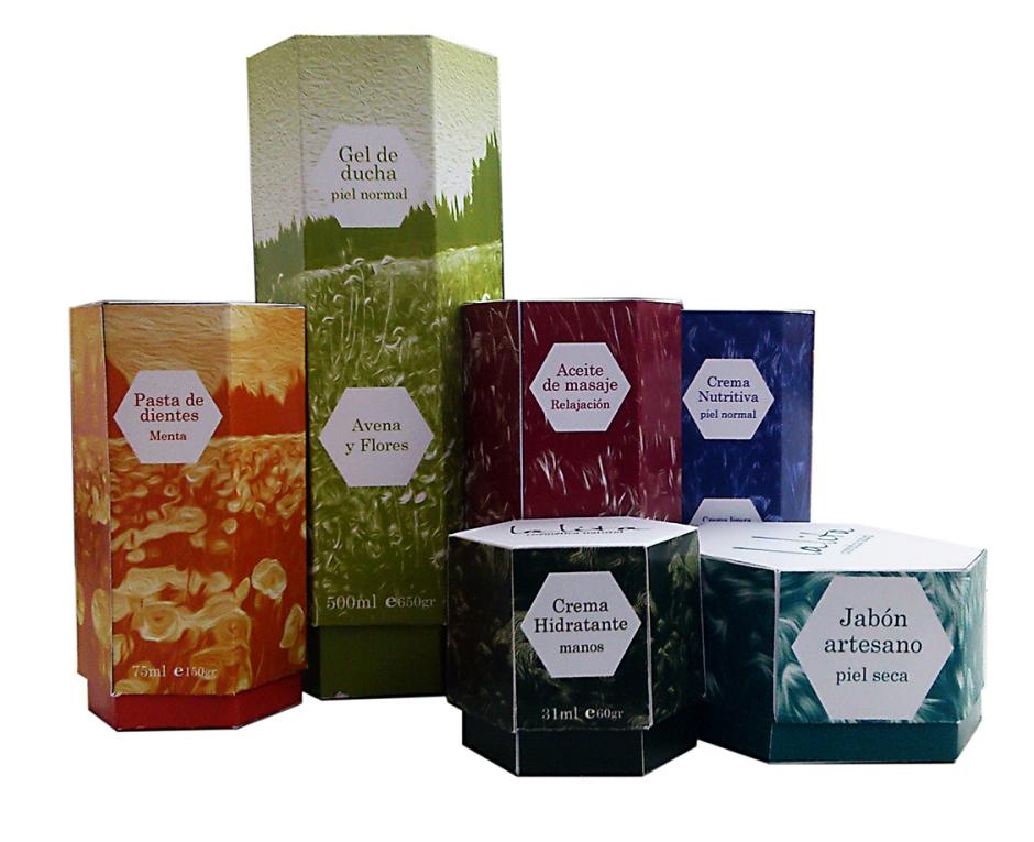 Propuesta packaging Cosmetica lalita